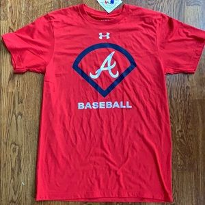 Atlanta Braves Under Armour Shirt MD